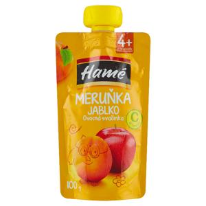 Hamé Meruňka jablko ovocná svačinka 100g