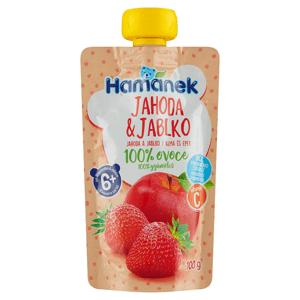 Hamánek Jahoda & jablko 100g