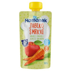 Hamánek Jablko s mrkví 100g