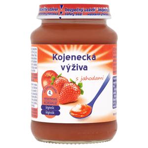 Kojenecká výživa s jahodami 190g
