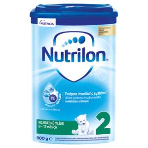 Nutrilon 2 pokračovací kojenecké mléko od uk. 6. měsíce 800g