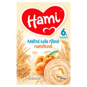Hami mléčná kaše rýžová meruňková od uk. 6. měsíce 225g