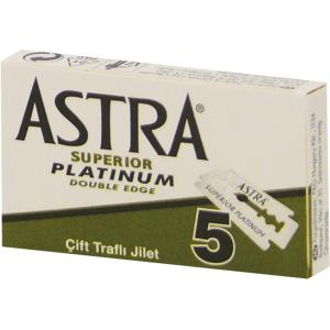 Astra superior platinum double edge žiletky 5ks