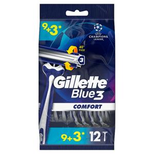 Gillette Blue3 Comfort Pánské Pohotové Holítko, 9+3 ks