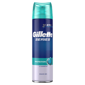 Gillette Series Protection Pánský Gel Na Holení 200ml