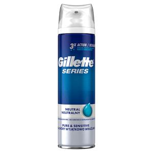 Gillette Series Pure &Sensitive Pánský Gel Na Holení 200ml