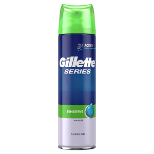 Gillette Series Sensitive Pánský Gel Na Holení 200ml