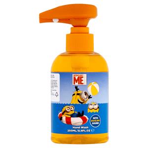 Minions Despicable Me Mimoňové tekuté mýdlo pro děti s chichotající se melodií 250ml