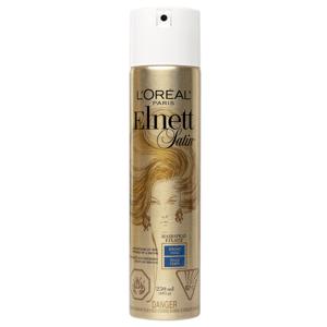 L'Oreal Paris Elnett Satin lak na vlasy silná fixace, 250ml
