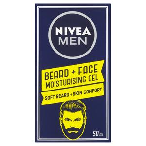 Nivea Men Hydratační gel na tvář a vousy 50ml