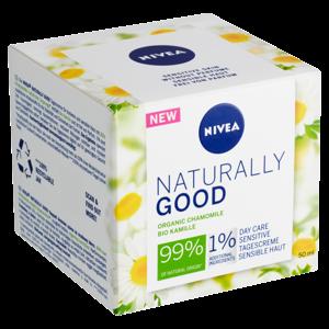 Nivea Naturally Good Zklidňující denní krém 50ml