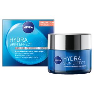 Nivea Hydra Skin Effect Regenerační noční hydratační gel-krém 50ml