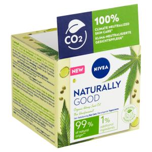 Nivea Naturally Good Zjemňující denní krém 50ml