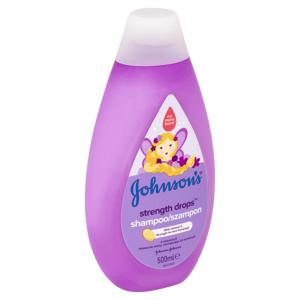 Johnson's Strength Drops posilující šampon 500ml