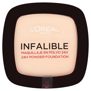 L'Oréal Paris Infalible 24h pudr 123 Warm Vanilla 9g