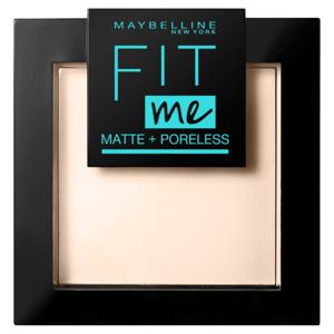 Maybelline New York FIT ME MAT&POREL.PWD NU 105 Natural