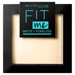 Maybelline New York FIT ME MAT&POREL.PWD NU 110 Porcela