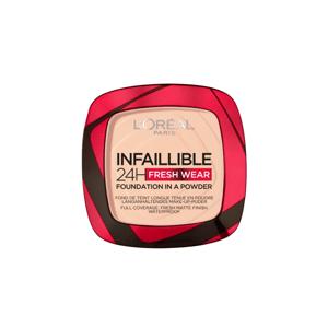 L'Oréal Paris Infaillible 24h Fresh Wear kompaktní pudr 180 Rose sand 9g