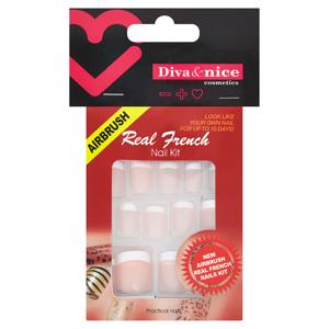 Diva & Nice Real French nail kit