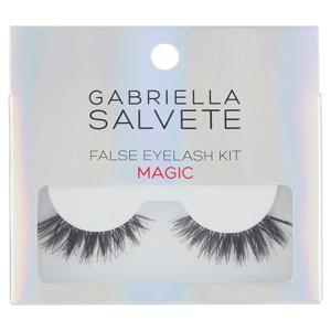 Gabriella Salvete Magic 1 pár přírodních řas s lepidlem