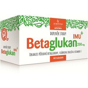 Aurovitas Betaglukan IMU 200 mg 60 tob.