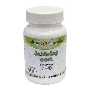Unios Pharma Jablečný ocet s vitamíny C a E 60 tbl.