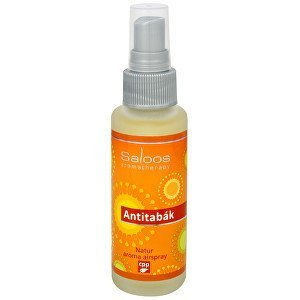 Saloos Natur aroma airspray - Antitabák (přírodní osvěžovač vzduchu) 50 ml