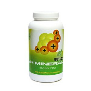 Wetyzo pH Minerals na odkyselení organismu 320 g