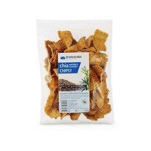 Damodara Chipsy s chia semínky a rozmarýnem 100g