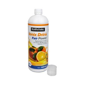 Survival Ionix Drink Fair Power 1000 ml Pomeranč