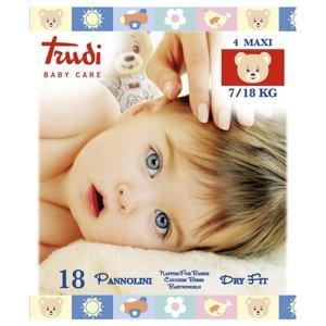 Trudi Baby Dry Fit Maxi 7-18 kg 18 ks