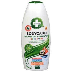 Annabis Bodycann Kids & Babies šampon a sprchový gel 2v1 250 ml