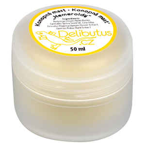 Delibutus Konopná mast na hemeroidy 50 ml