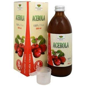 EkoMedica Czech Acerola - 100% šťáva z aceroly 500 ml