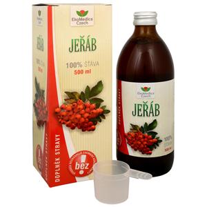 EkoMedica Czech Jeřáb - 100% šťáva z jeřábu 500 ml
