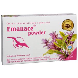 Phoenix Division Emanace powder zelený čaj kurkuma pepř 75 g