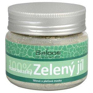 Saloos 100% Zelený francouzský jíl - tělová a pleťová maska 80 g