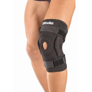 Mueller Mueller Hinged Wraparound Knee Brace - kolenní ortéza s kloubem - ovinovací vel. XL