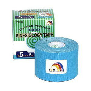 TEMTEX Tejp. TEMTEX kinesio tape 5 cm x 5 m Modrá