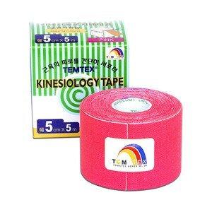 TEMTEX Tejp. TEMTEX kinesio tape 5 cm x 5 m Růžová