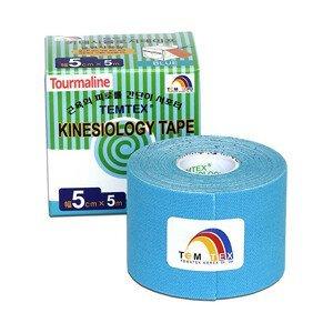 TEMTEX Tejp. TEMTEX kinesio tape Tourmaline 5 cm x 5 m Modrá