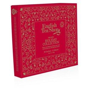 English Tea Shop Papírová kolekce 96 pyramidových sáčků - Kolekce vánoční zima Vánoční červená kolekce