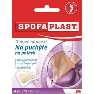3M Futuro SpofaPlast gelové náplasti na puchýře 4 ks
