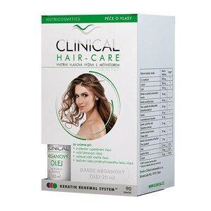 Clinical Clinical Hair-care 90 tobolek + Arganový olej 20 ml ZDARMA