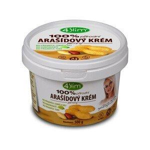 4Slim Arašídový krém jemný 500 g