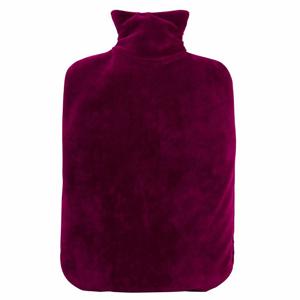 Hugo-Frosch Termofor Eco Classic Comfort se sametovým obalem - fialový