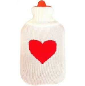 Albert Termofor v obalu pulover Srdce