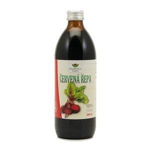 EkoMedica Czech Červená řepa - 100% šťáva z červené řepy 500 ml