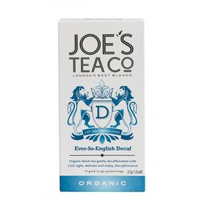 Joe´s Tea Co. Bezkofein English Breakfast BIO 15 pyramidek
