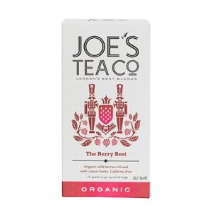 Joe´s Tea Co. Berry best ovocný čaj BIO 15 pyramidek